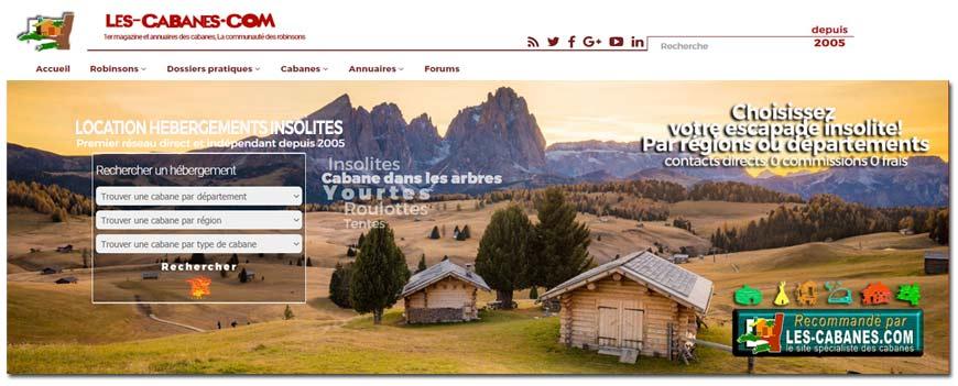 image du header des cabanes.com